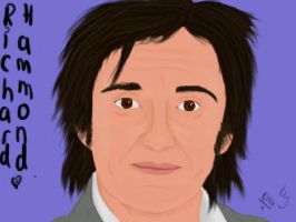 Digital painting of Richard Hammond by TopGearCRAZY
