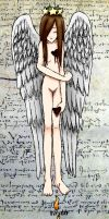 Flyleaf Angel Colored 1 by LuCkYrAiNdRoP