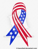 Support America Ribbon Free Download by hassified