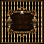 Steampunk Frame 3 by IllustratorG