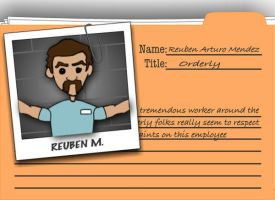 reuben the orderly by slothsart
