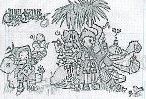 Final Fantasy: Crystal Chronicles by ItsPancakeTimex3