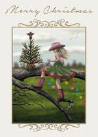 Holiday Card Project 2014 by Odyrah