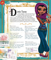Dottie Turan (Ever After High OC) Profile Bio by ebabe227