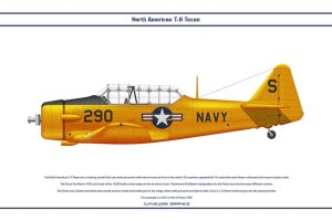 SNJ-5 US Navy 1 by WS-Clave