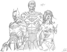 DC Trinity Zombie by RV1994