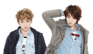 Minho e Key (SHINee) png [render] by Sellscarol