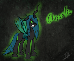 Angry Queen Chrysalis by ToMaz777