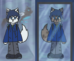 Mirrored Fursona by lurils