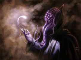 The Mind Flayer by PaleDrow