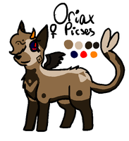 Oriax reference by kittystuff