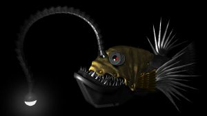Angler Lion by HypnoticGenes