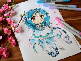 Chibi Ushiko by Lighane
