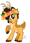 Gift: Small Deer by DragonGirl983