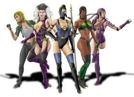 The MK FemForce by AlvMar0122