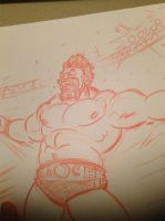 Sheamus pencils by JonDavidGuerra