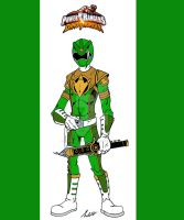 Power Rangers Dino Thunder Green by wonderfully-twisted