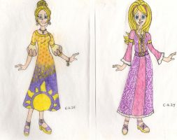 Tangled Dress Designs by CooperGal24