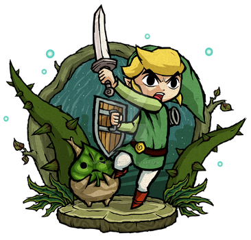 The Wind Waker: Forbidden Woods by Purrdemonium