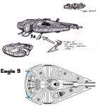Star Wars Eagle Nine Concepts by stourangeau