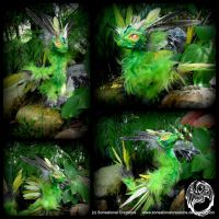 Wild Spirit OOAK Poseable Art Doll- AIAC - SOLD by SonsationalCreations
