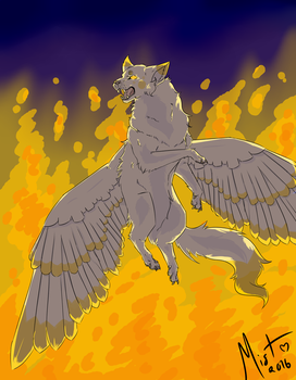 Firefall by Hecate-Art