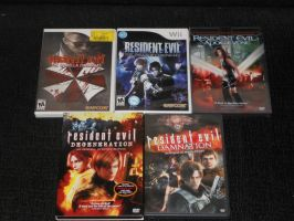 My other half of my RESIDENT EVIL Collection by IronCobraAM