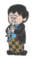Patrick Troughton (1966 - 1969) by HectorConCarne