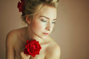 The Rose I by MsLaurethil