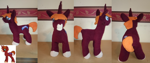 MLP OC Plush Muse by Tazimo
