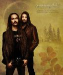 Amorphis, Tomi and Esa by Wolverica