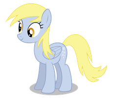 Derpy Hooves Standing by Chubble-munch