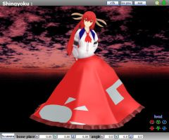 MMD Touhou SinGyoku - Model Review by Trackdancer