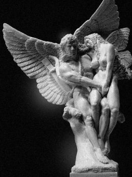 Eros And Psyche by dreamfloatingby