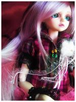 BJD - Pink Combination by AidaOtaku