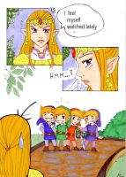 short Zelda comic by alseides