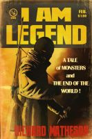 I AM LEGEND (pulp cover) by AndrewKwan
