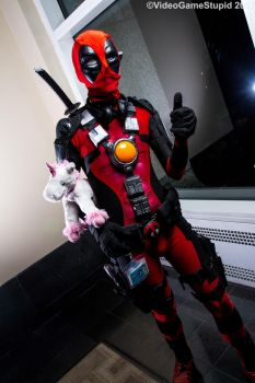 Anime Boston 2017 - Deadpool by VideoGameStupid
