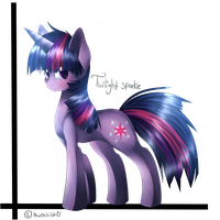 Twilight Sparkle by thechibicatz67