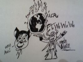 MCR FTWWW quick sketch 1 by zombis-cannibal