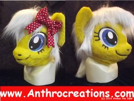 Own Char MLP Pony Costume Fursuit Head by AtalontheDeer