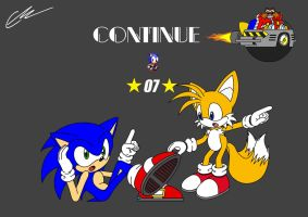 Continue Sonic by EUAN-THE-ECHIDHOG