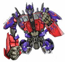 OPTIMUS PRIME by hosanna9