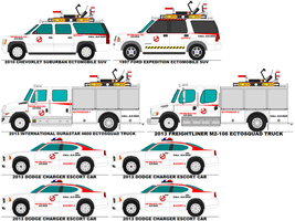 Ghostbusters Task Force Ecto 1 by MisterPSYCHOPATH3001