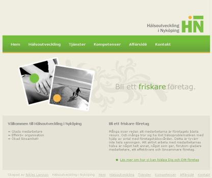 HNI Website by niklas
