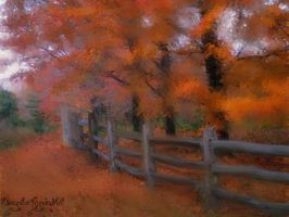 Country Lane by AbsyntheMyndedArt