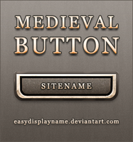 Medieval button by easydisplayname