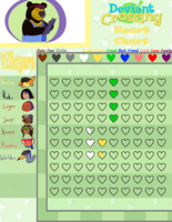 DeviantCrossing - Roman's Heartchart by Capy-Logger