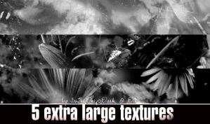 5 Large Textures by InTheDeepDark