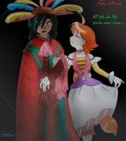 Drosselmeyer and Edel by TomeFantasy